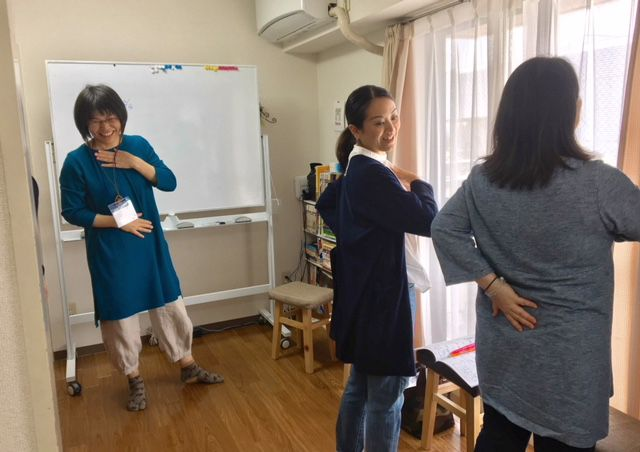 子育てのためのキネシオロジー講座@横浜5回目